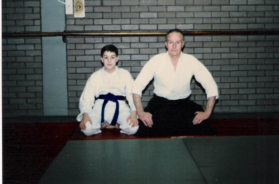 Henry Ellis y su hijo Rick.