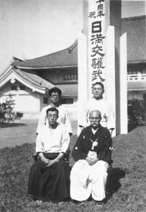 tomiki y ueshiba en manchuria