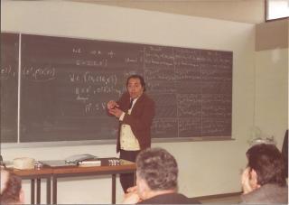 Dr. Jorge Rojo Morales Louvain La Neuve 1976