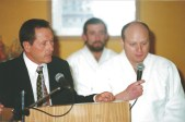 Sensei Ch.Tissier en Chile 2002