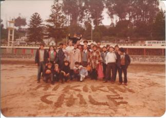 Sensei Jean Marie Castillon en Chile 1980 (1)