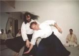 Sensei S.Sugano y Sensei J. Rojo Gutiérrez en Nueva York 1992