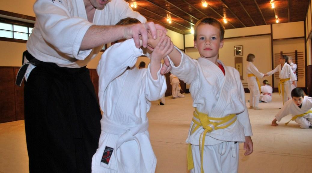 Aikido edzés gyerekeknek a Tada Ima Dojoban