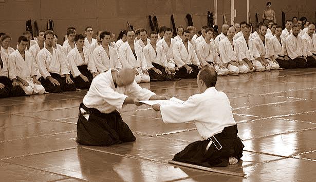 vizsgák az aikidoban