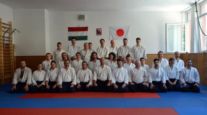 Shochugeiko (暑中稽古) – nyári aikido szeminárium