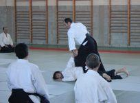 Curso Nacional de Aikido en Alicante, Tomás Sánchez y Roberto Sánchez, noviembre 2015 (Sankyo Tomás Sánchez)