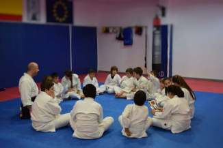 20160210 clase Aikido Kids (infantil y juvenil) Aikido Aikikai San Vicente - Alicante - DSC_0053