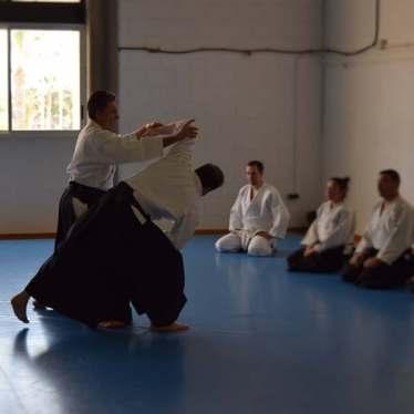 20160220 clase conjunta grupos Aikido Aikikai San Vicente - Universidad de Alicante y Dojo San Vicente - 007