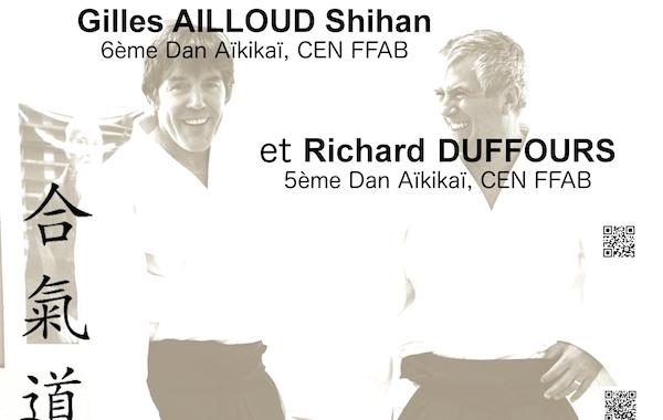 Photo Gilles Ailloud et Richard Duffours