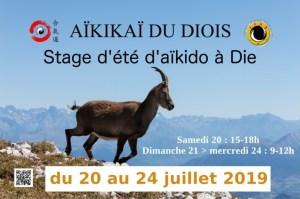 Stage d'été à Die avec Gilles AILLOUD 2019 @ Dojo Dôme du Glandasse | Die | Rhône-Alpes | France