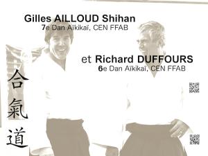 Stage avec Gilles Ailloud et Richard Duffours les 15 et 16 juin 2019 @ Dojo du Dôme du Glandasse | Die | Auvergne-Rhône-Alpes | France