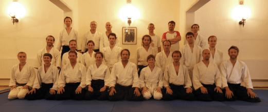 Gruppenfoto Matti Joensuu Lehrgang Juni 2014