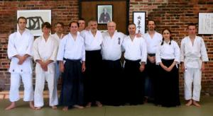Aikido seminar at the Fan Dojo with George Ledyard Sensei