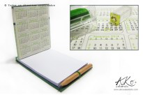 Caderninho com lápis