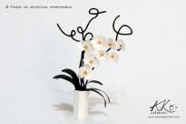 Porta retrato orquídeas