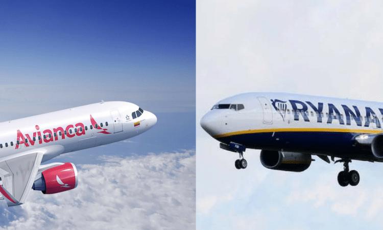 Las diferencias entre la huelga de los pilotos de Avianca en Colombia y los de Ryanair en Europa