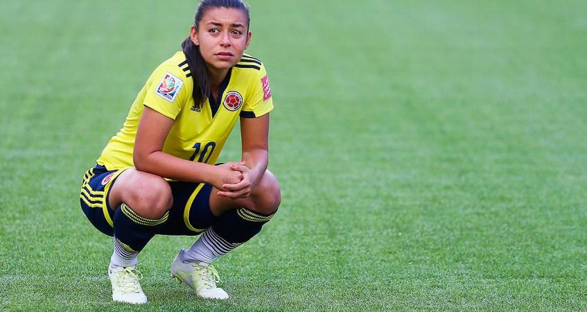 Yoreli Rincon, figura del fútbol femenino en Colombia,