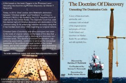 Doctrine of Discovery Unmasking the Domination Code DVD cover