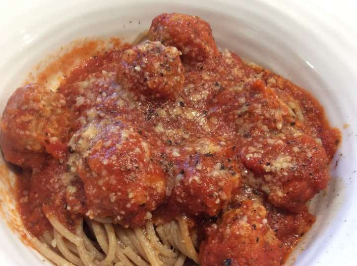 Crockpot Italian Meatballs | Aileen Cooks