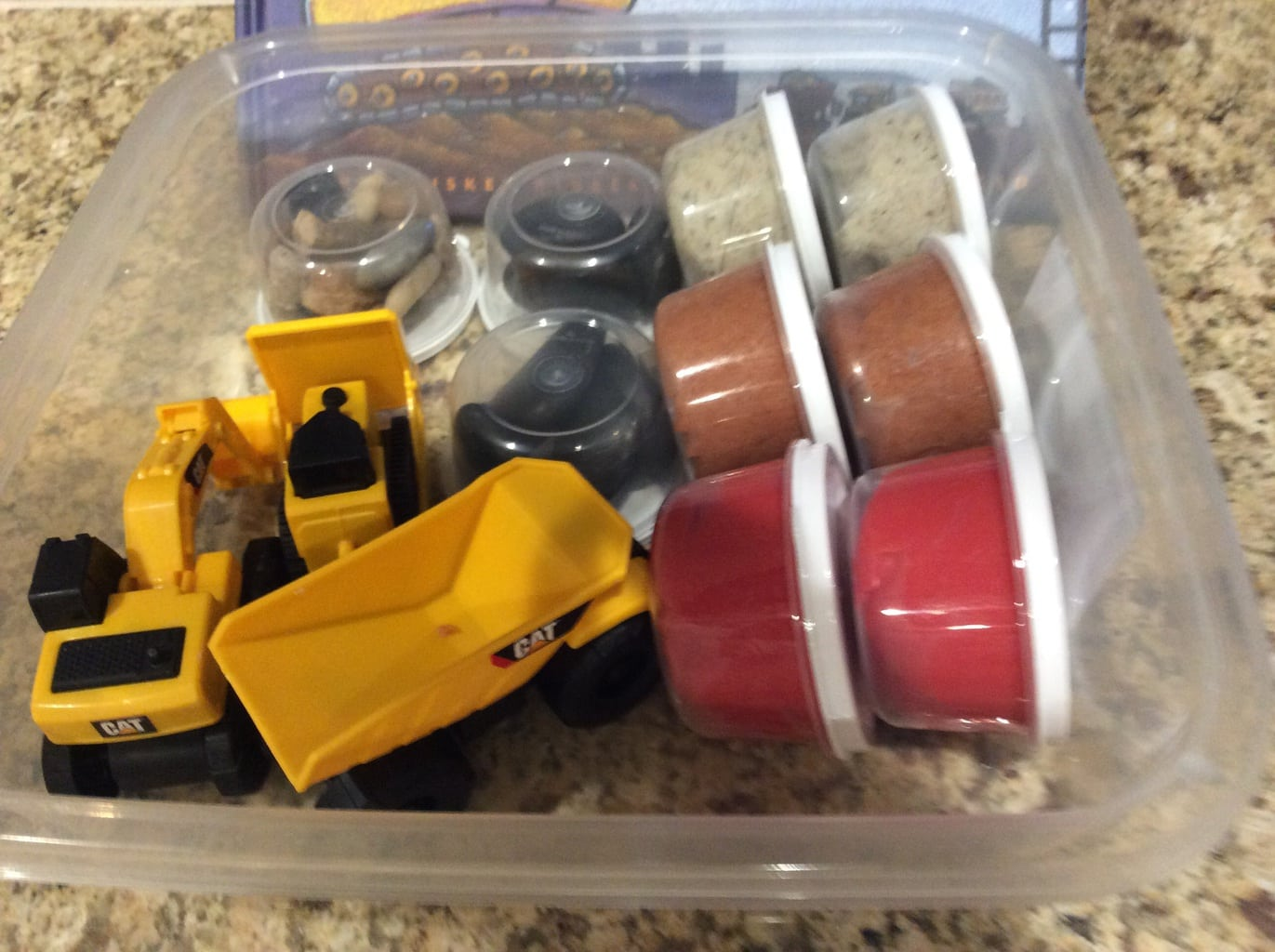 Constuction Play Dough Set | Aileen Cooks