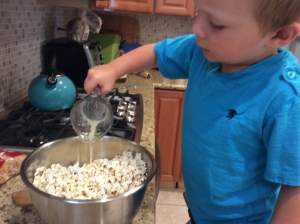 Cooking with Kids: Making Popcorn