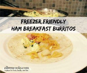 Ham Breakfast Burritos