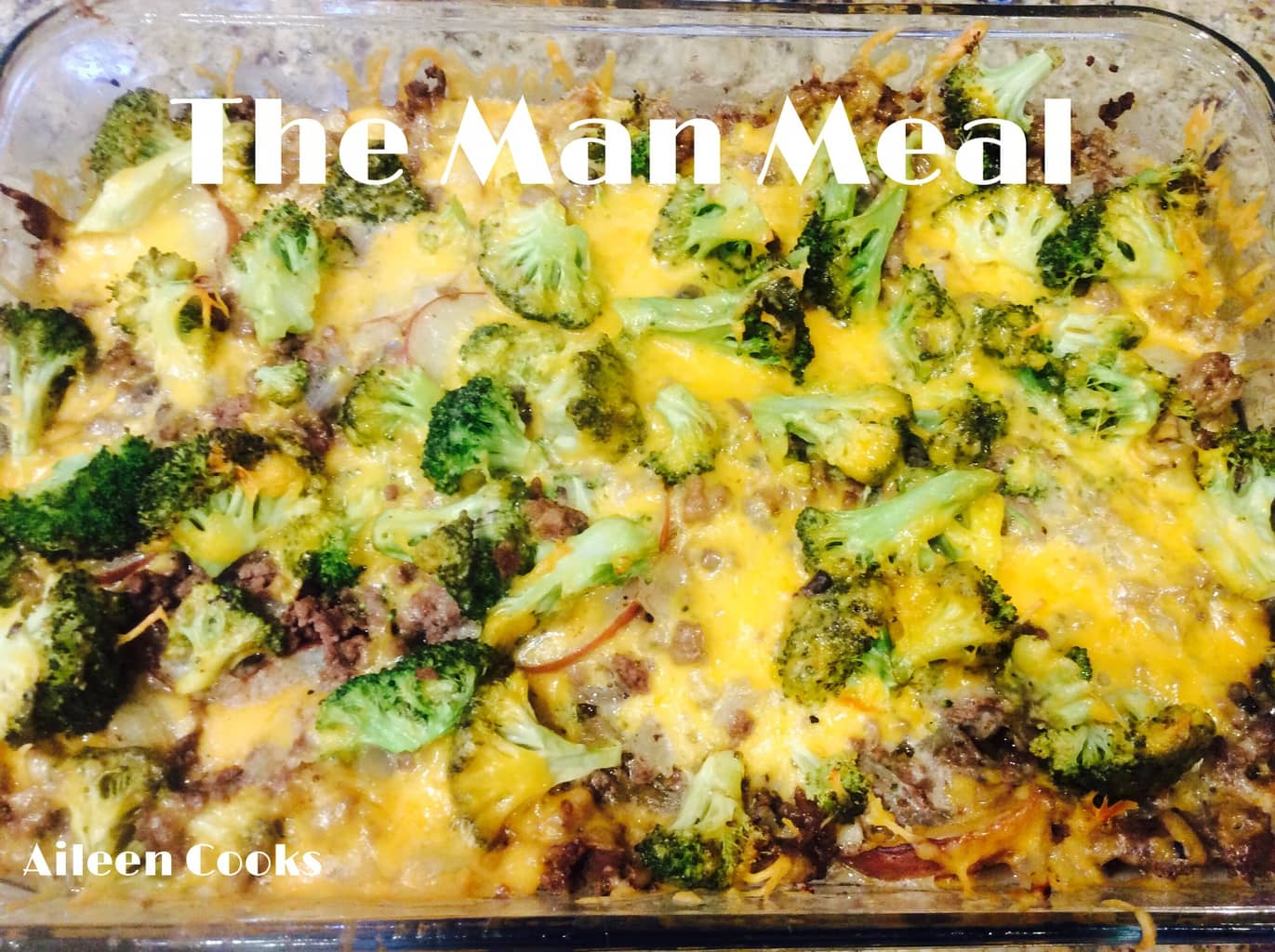 The Man Meal (Meat and Potato Casserole) on Aileen Cooks