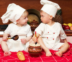 Cooking With Kids Does Not Have to be an Ordeal