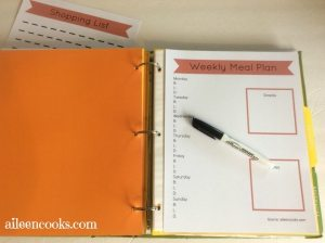 Meal Planning 101 + FREE Printable
