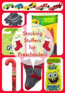 7 Stocking Stuffer ideas for Preschoolers