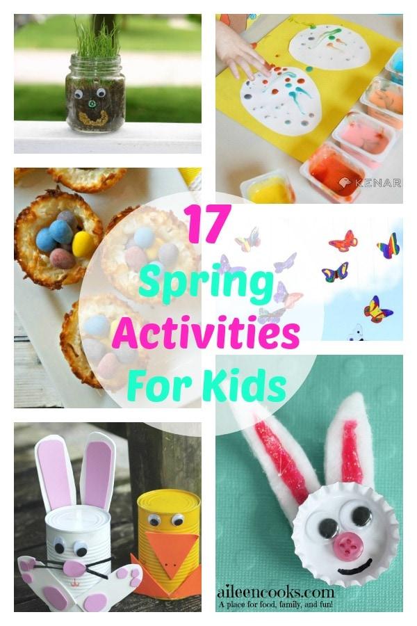 17 Spring Activities for Kids | aileencooks.com