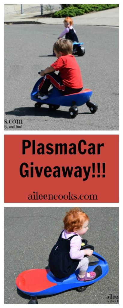 Enter to win a PlasmaCar from aileencooks.com!