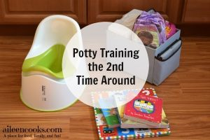 Potty Training the 2nd Time Around