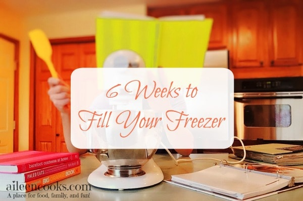 6 Weeks to Fill Your Freezer: Week 1. Lawnmower tacos, freezer friendly banana bread, beef broth + freezer cooking tips from https://aileencooks.com