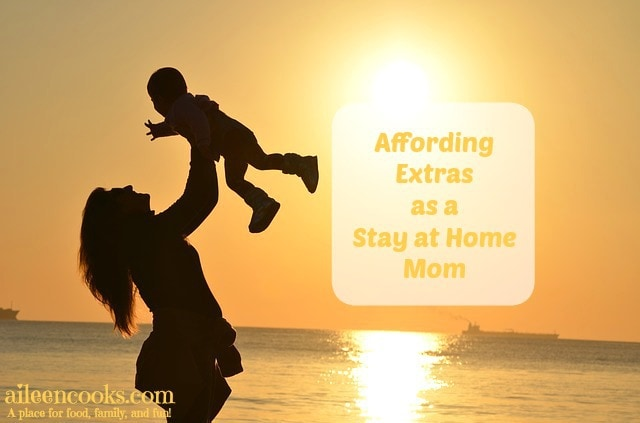 Affording Extras as a Stay at Home Mom. Save money with Groupon Goods. #ad