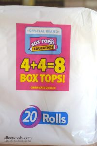 Earn Money for Your Child's School with Box Tops