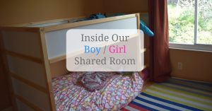 Inside Our Boy and Girl Shared Room