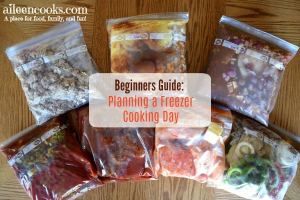 Beginner's Guide to Planning a Freezer Cooking Day