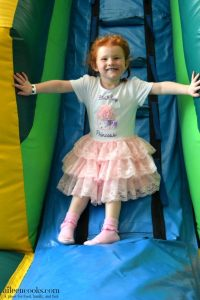 Katie's Frozen Bouncehouse Birthday Party