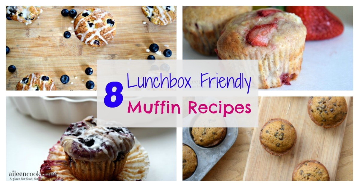 8 Lunchbox Friendly Muffins