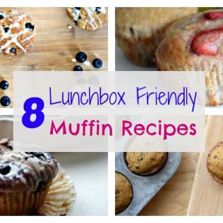 Make one of these lunchbox friendly muffins! These lunchbox treats make your kids happy, are easy to make, and are freezer friendly! All of these muffin recipes are tried and true!