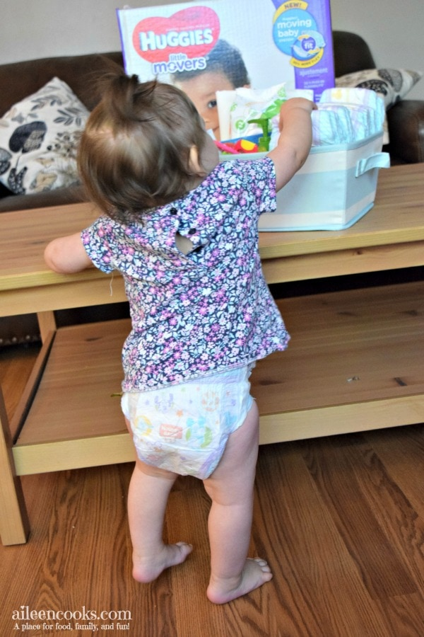Make your own car diaper changing station. It's a great way to be prepared in the car!