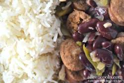 Make this classic dish of red beans and rice in your instant pot electric pressure cooker!