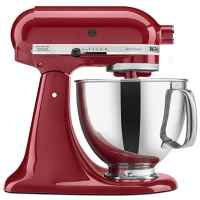 KitchenAid Artisan Tilt-Head Stand Mixer with Pouring Shield, 5-Quart, Empire Red