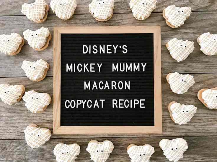 Disney's Mickey Mummy Macarons