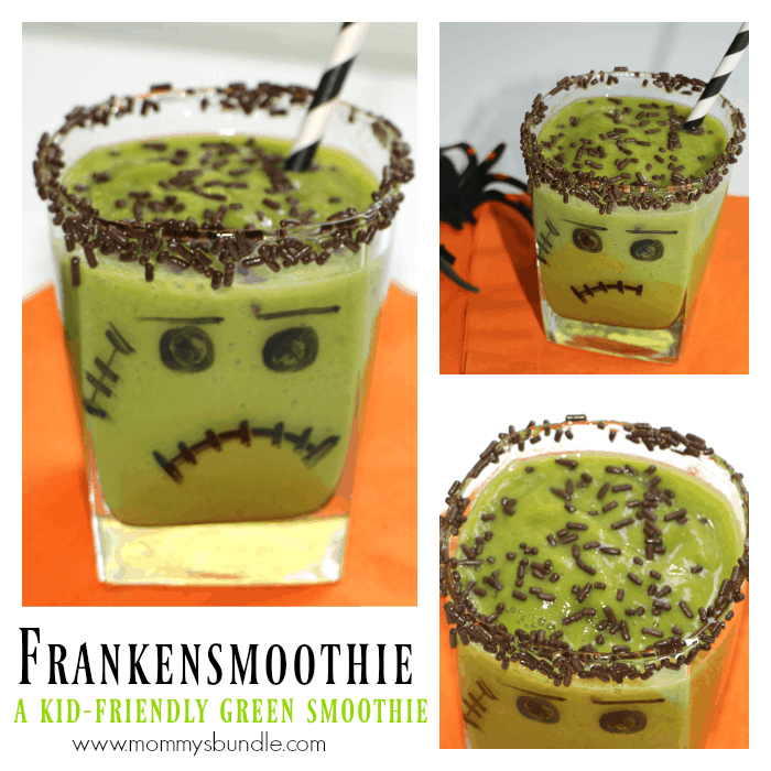 FrankenSmoothie: A Kid-Friendly Green Smoothie