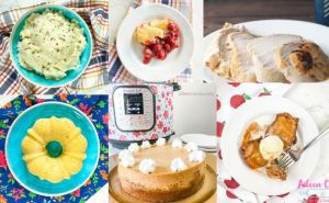 Instant Pot thanksgiving recipes including cornbread, cheesecake, turkey, mashed potatoes, and more!
