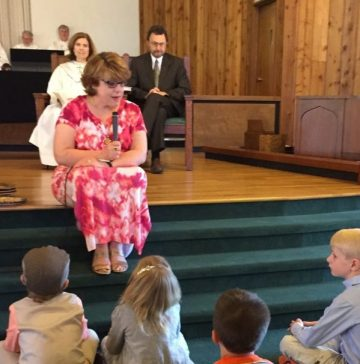 aileen and children sermon