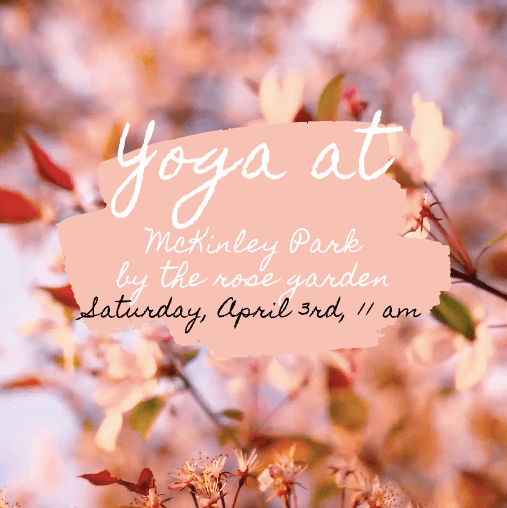 Yoga at McKinley Park - Spring 2021