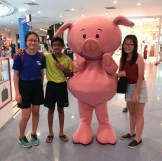 We were with penny pig?? (tbh idk who or what is that)